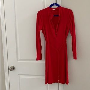 Calvin Klein red dress. Size 8